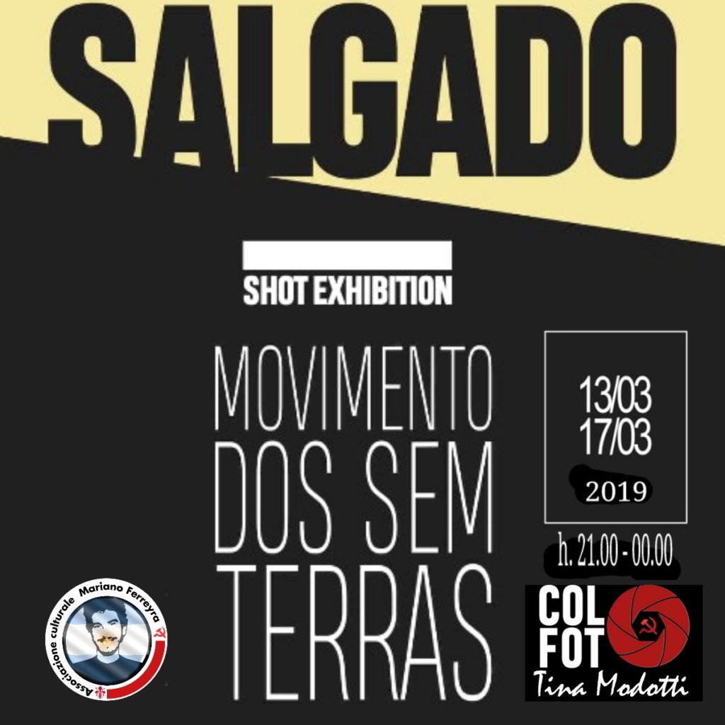 "SALGADO ""Movimentos dos sim terras""MOSTRA FOTOGRAFICA 13-17 Marzo 2019"