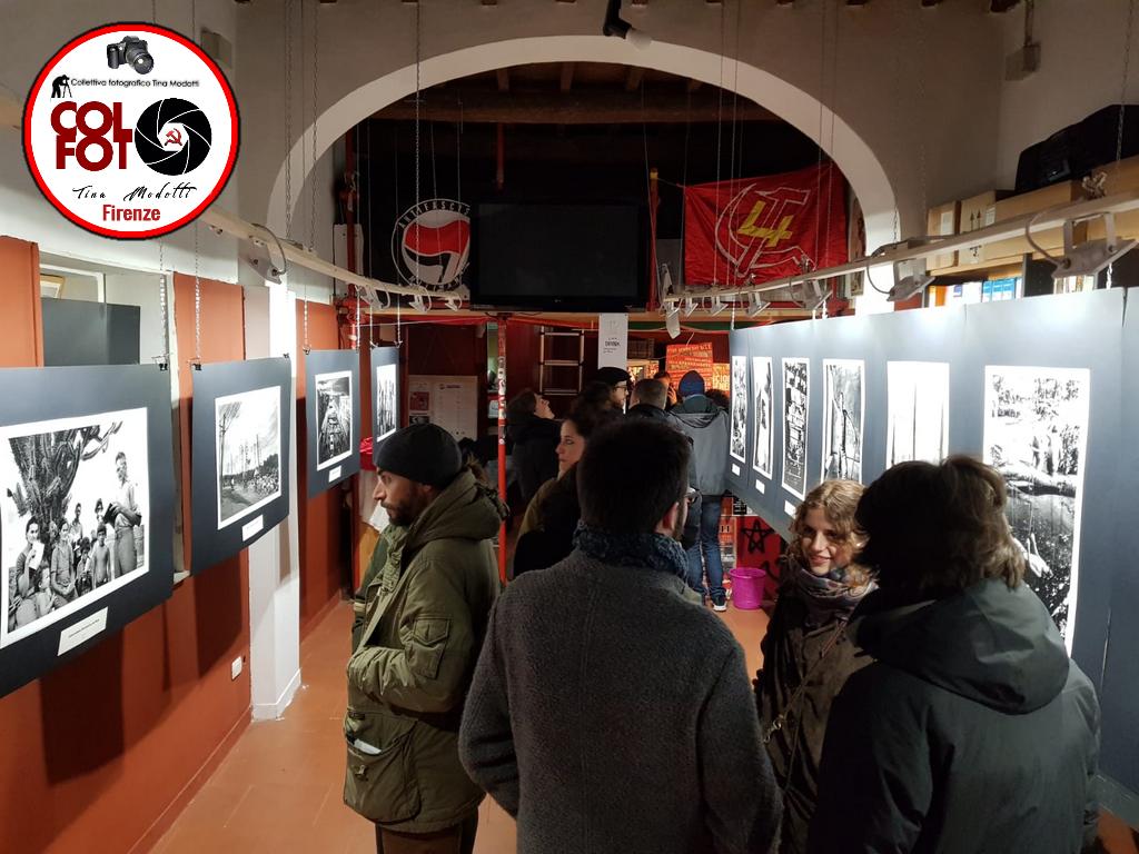 """Buona la prima!!Tanta gente alla serata di apertura della Mostra Fotografica su SALGADO """"Movimentos sim terras"""""""