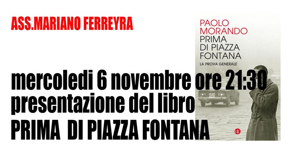 """Presentazione libro """"Prima di Piazza Fontana la prova generale"""""""