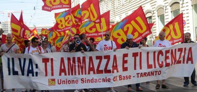 Ilva, il bottino di padroni e burocrazie sindacali