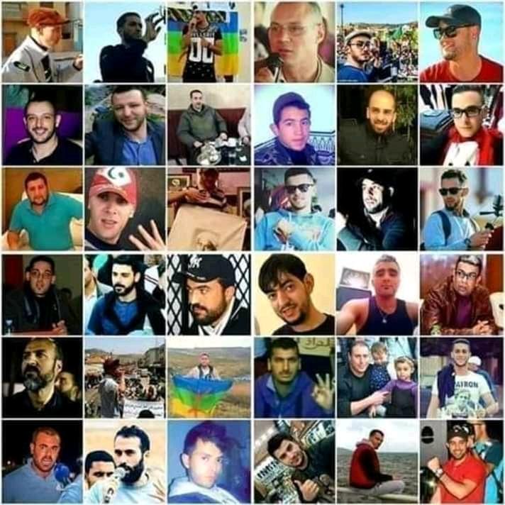 Solidarietà ai prigionieri politici del Rif
