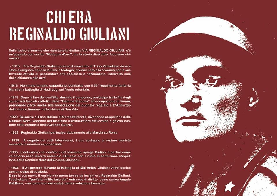 CHI ERA REGINALDO GIULIANI